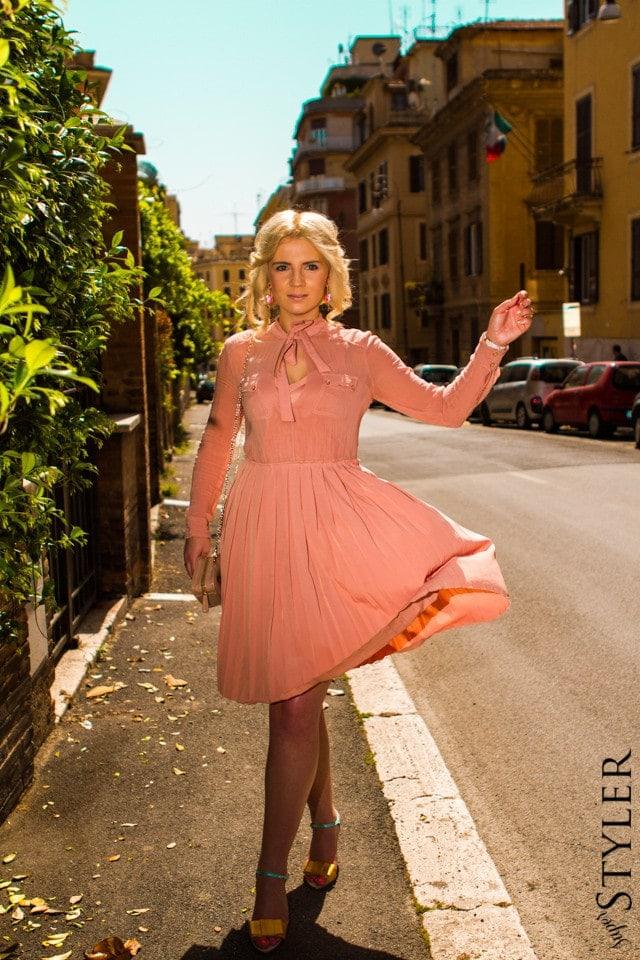 retro-chic,sukienka,sukienka letnia,sukienka na lato,Rzym,moda na lato,moda letnia,SS 2013