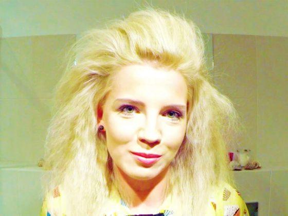 włosy,objętość,jak nadać objętość włosom,objętość włosów,volume,tutorial,uroda,fryzura,fryzury,fryzjer,Syoss,stylizacja,stylizacje,pianka do włosów