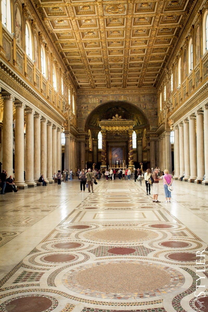 Bazylika Matki Bożej Większej,Basilica di Santa Maria Maggiore,Włochy,Rzym,wycieczka,zwiedzanie,turystyka,turyści,turysta,rady,porady,zwiedzanie,zabytki,jedzenie,desery,zdjęcia,co zwiedzać,weekend w Rzymie,co warto zobaczyć w Rzymie,plan wycieczki Rzym,plan wycieczki po Rzymie,Watykan,wakacje we Włoszech