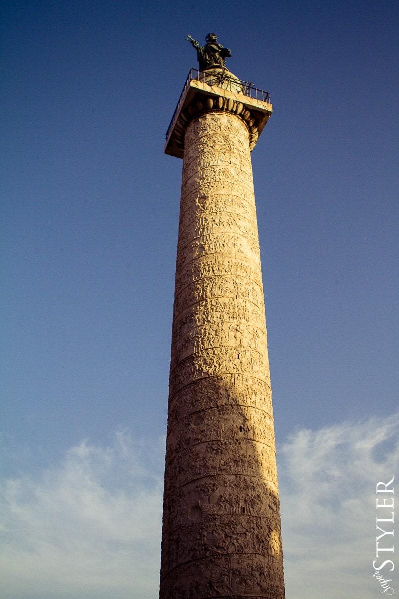 Kolumna Trajana,Włochy,Rzym,wycieczka,zwiedzanie,turystyka,turyści,turysta,rady,porady,zwiedzanie,zabytki,jedzenie,desery,zdjęcia,co zwiedzać,weekend w Rzymie,co warto zobaczyć w Rzymie,plan wycieczki Rzym,plan wycieczki po Rzymie,Watykan,wakacje we Włoszech
