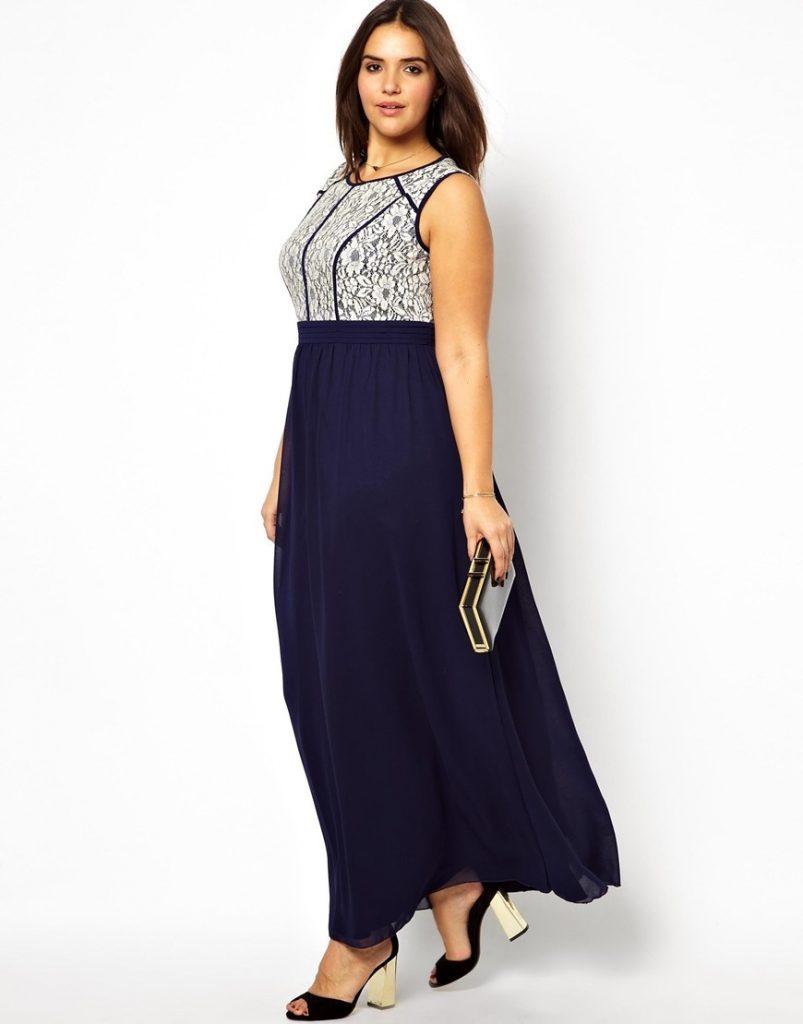 dwu kolorowa suknia