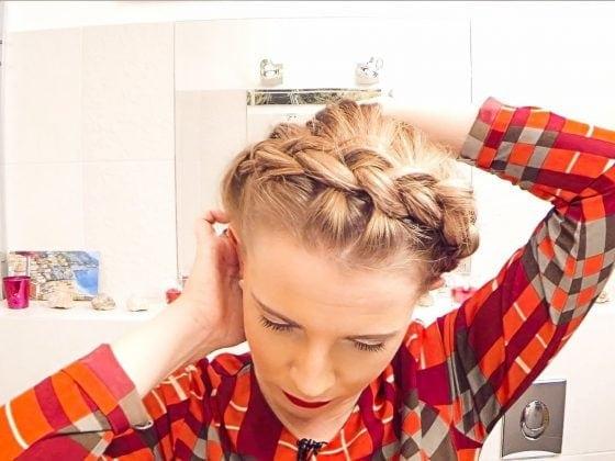 wianek z włosów