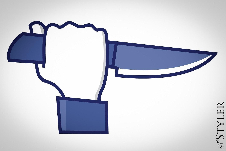 facebook nóż