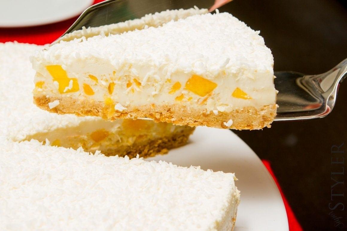ciasto z mango na zimno