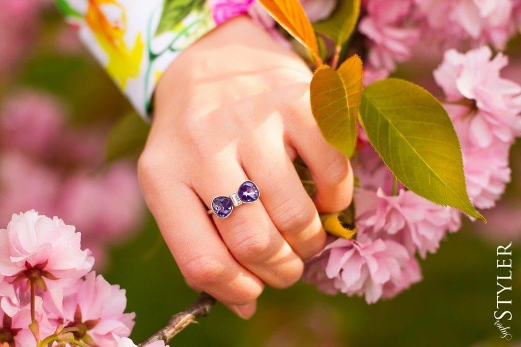 pierścionek Swarovski