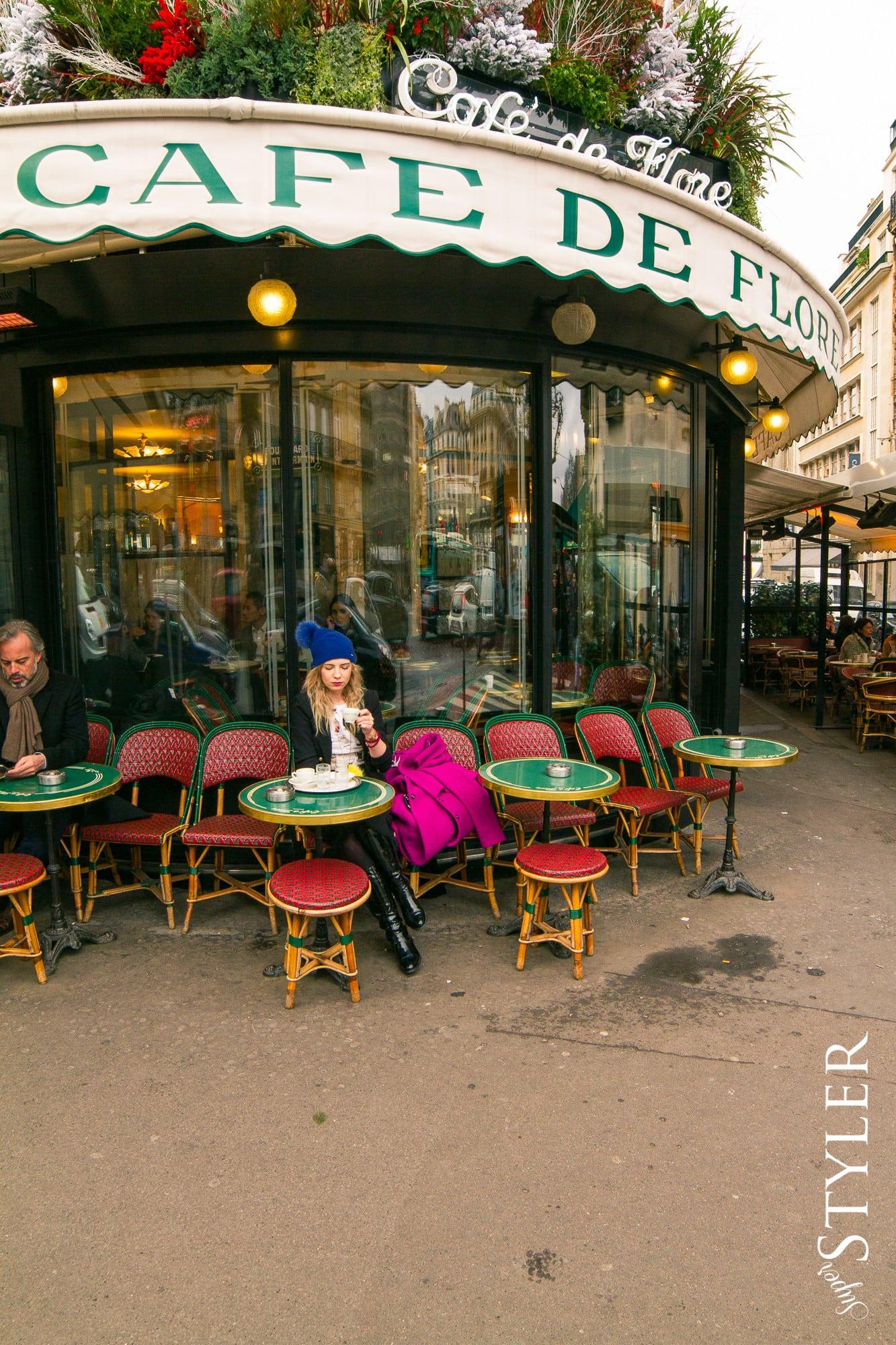 Paryż Cafe de Flore