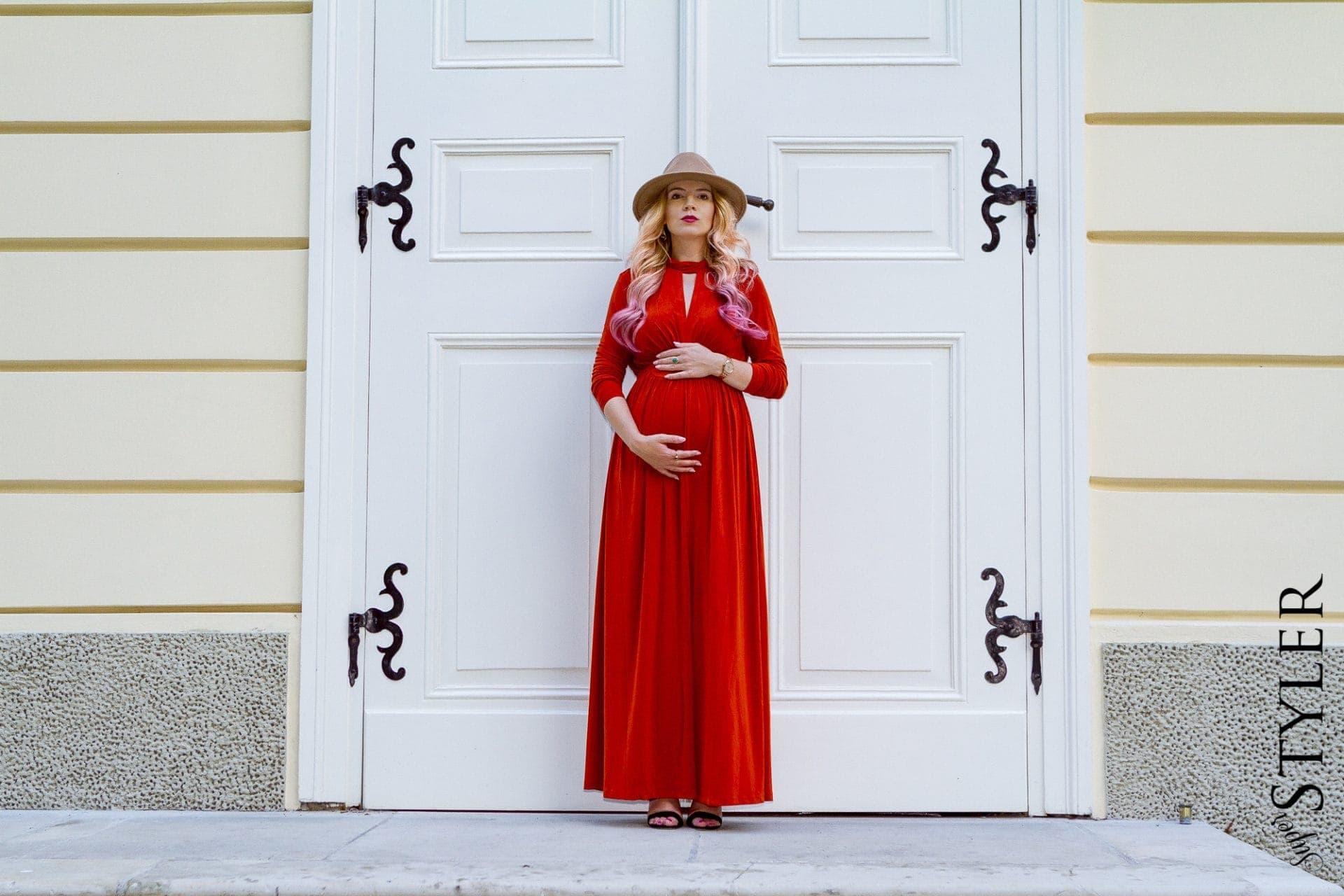 stylizacja sukienka