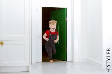 drzwi do pokoju dziecięcego
