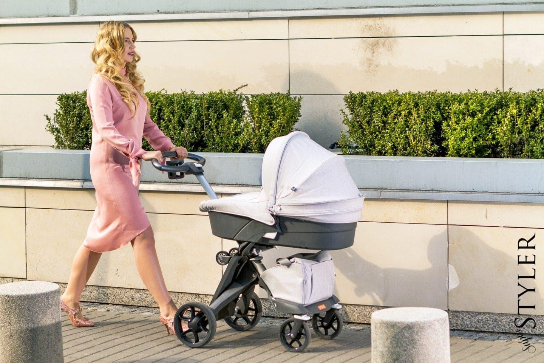 Jak wybrać najlepszy wózek dziecięcy, a do tego pierwsza wiosenna stylizacja