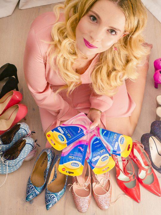 wkładki żelowe do butów
