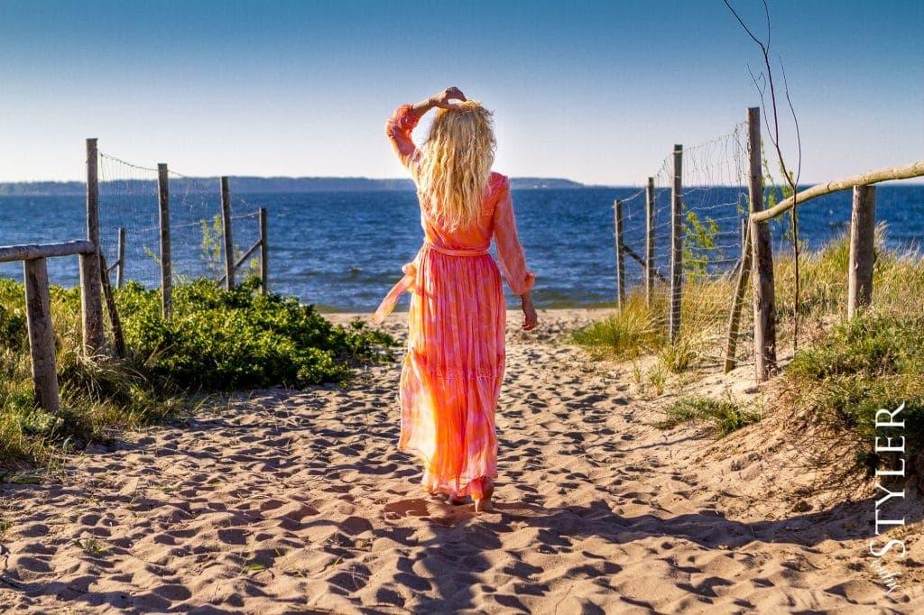 długa sukienka na lato