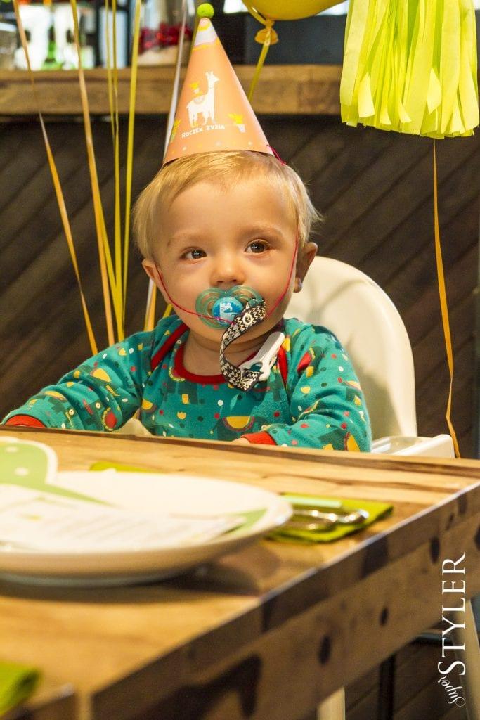 pierwsze urodziny Zyzia