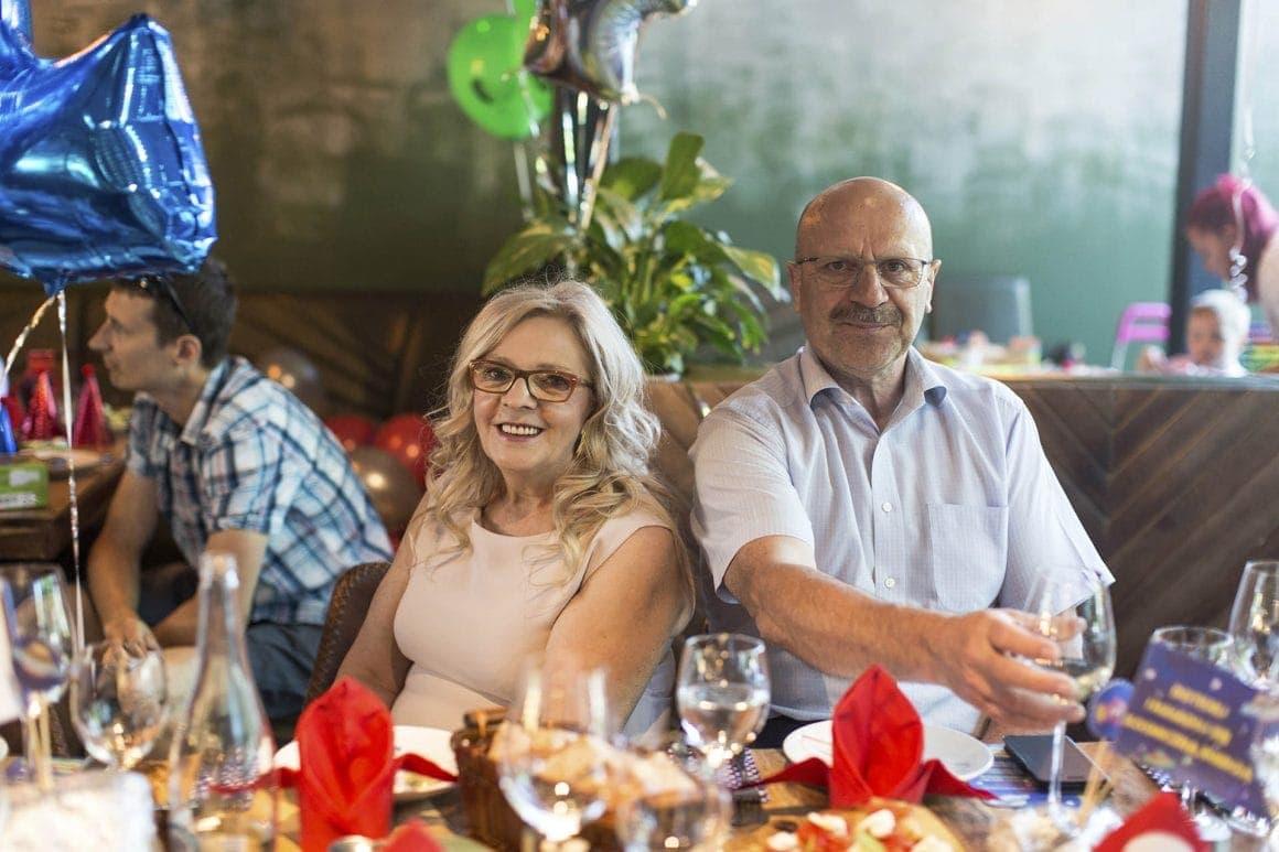 organizacja urodzin - Dziadkowie