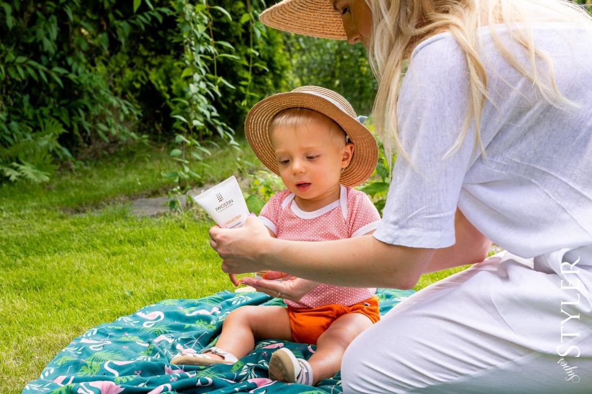 krem z filtrem dla dziecka