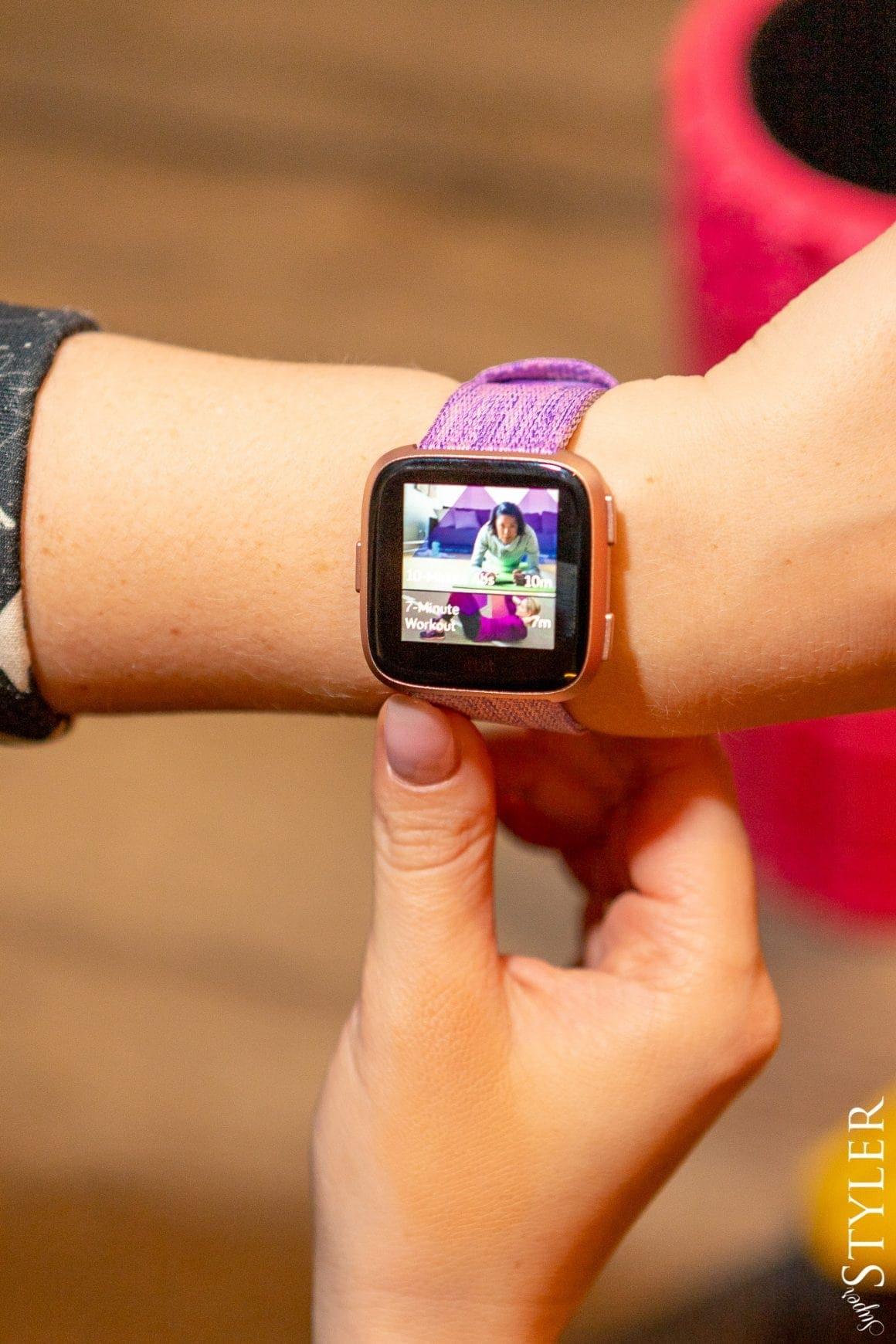 zegarek sportowy Fitbit