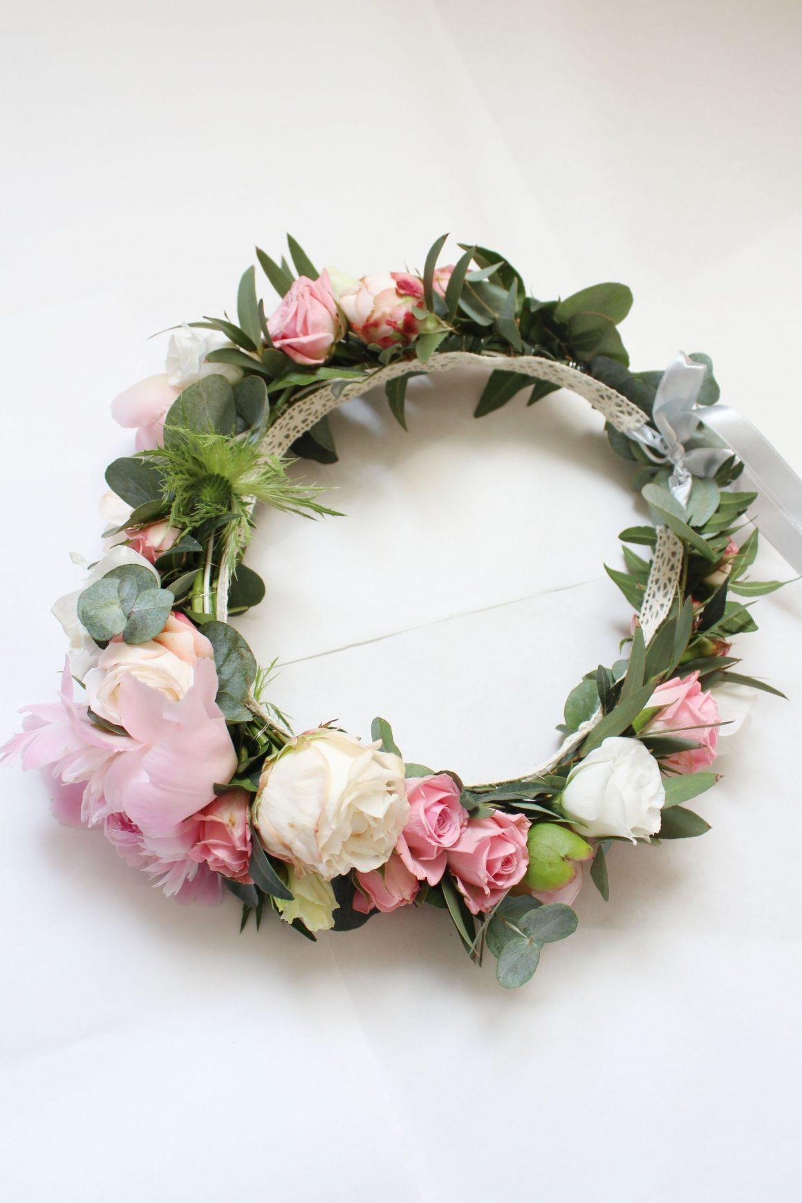 wianek z kwiatów