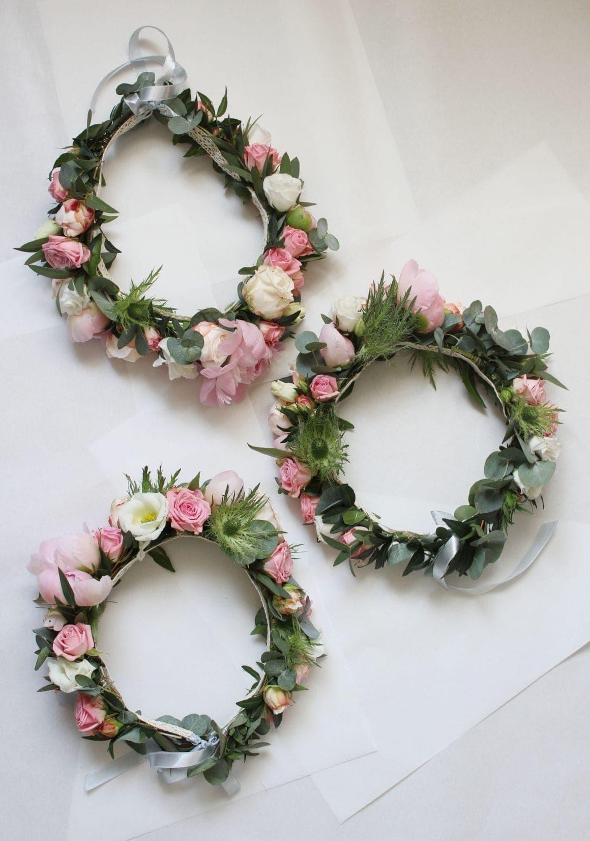 wianki z kwiatów