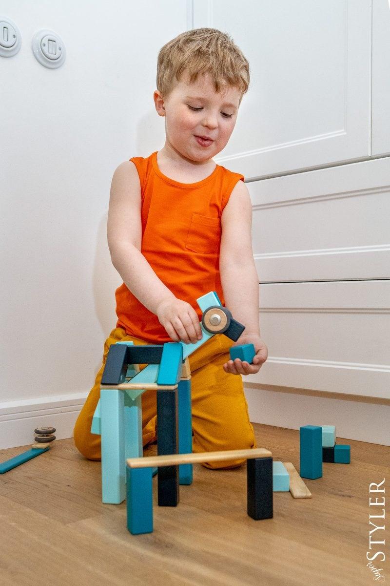 klocki magnetyczne zabawki kreatywne