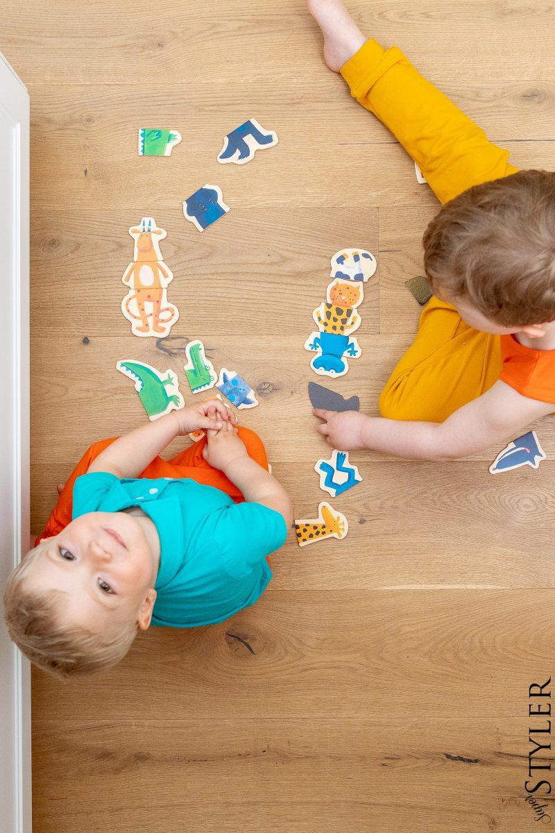 puzzle magnetyczne zabawki kreatywne