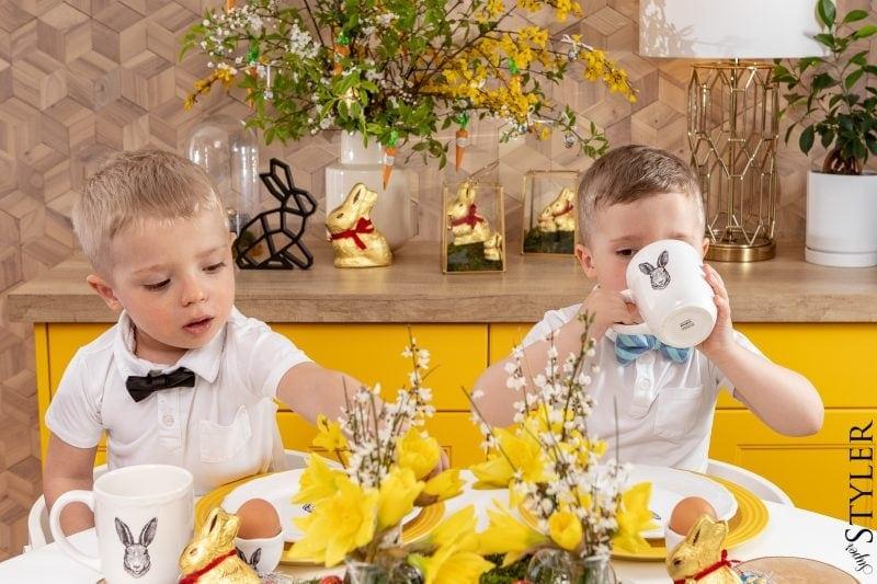 Wielkanoc chłopcy Lindt