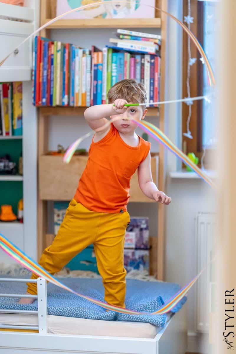 wstęga gimnastyczna zabawki kreatywne