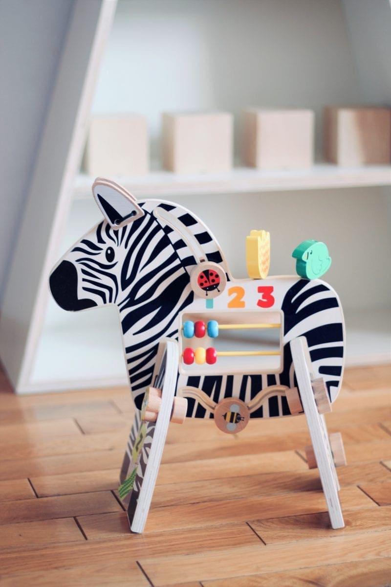 zabawka kreatywna noski noski zebra