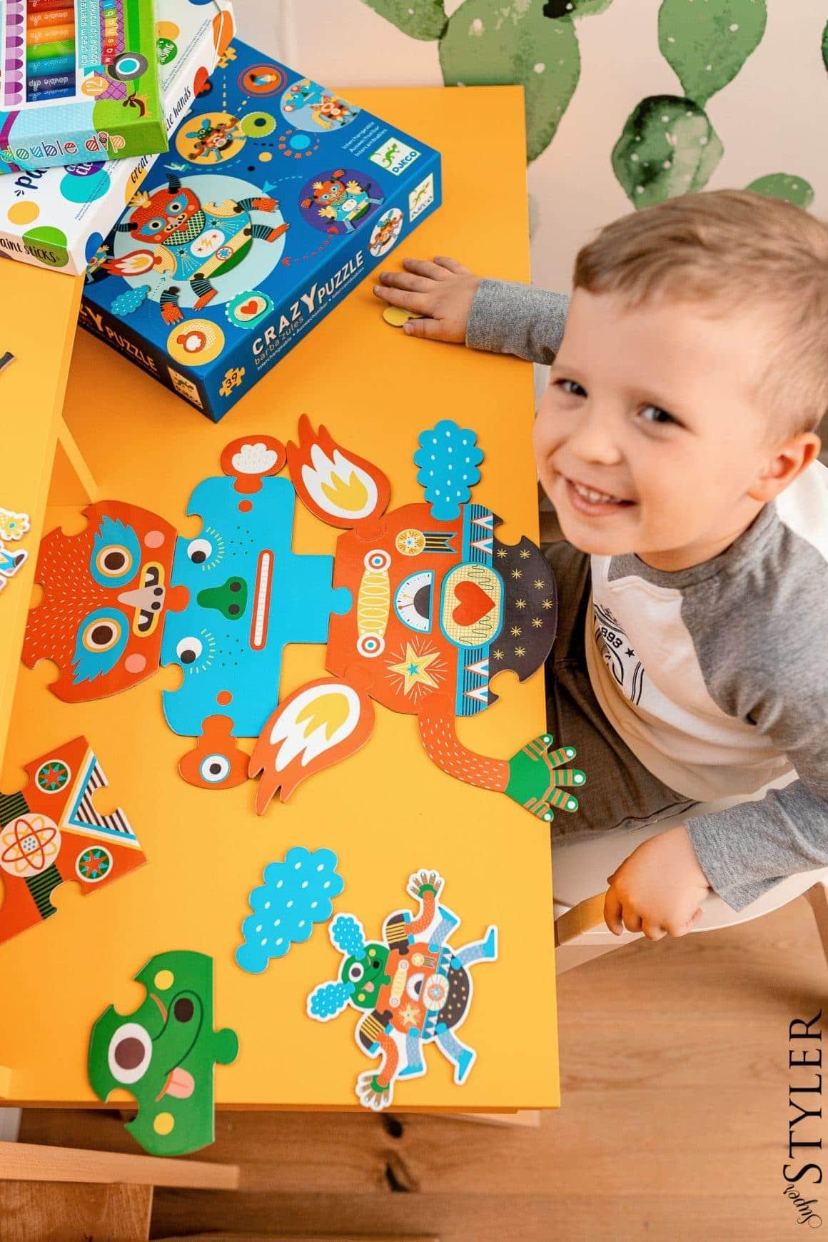 kreatywne zabawki - puzzle