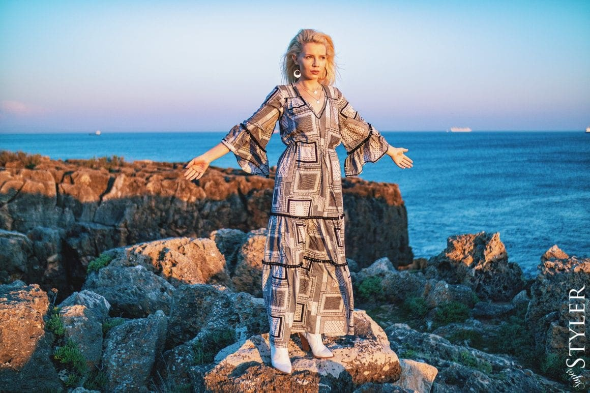 sukienka Bizuu Mer Bali