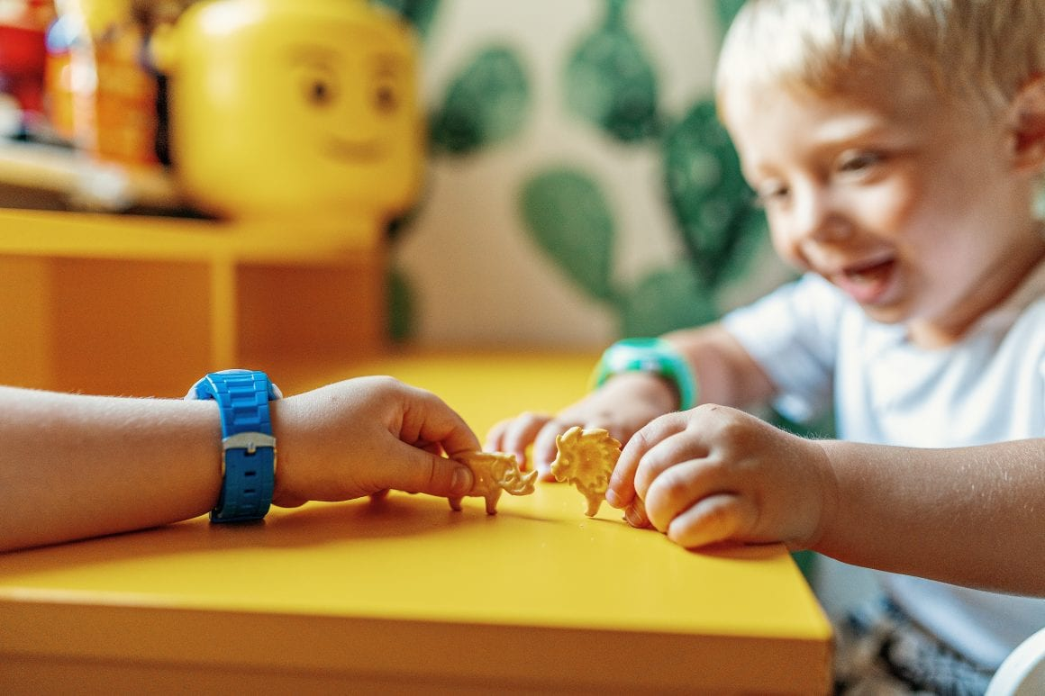 słona przekąska dla dziecka- Lajkonik Junior