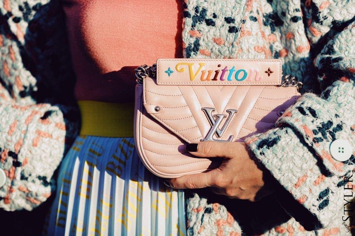 różowa torebka Louis Vuitton
