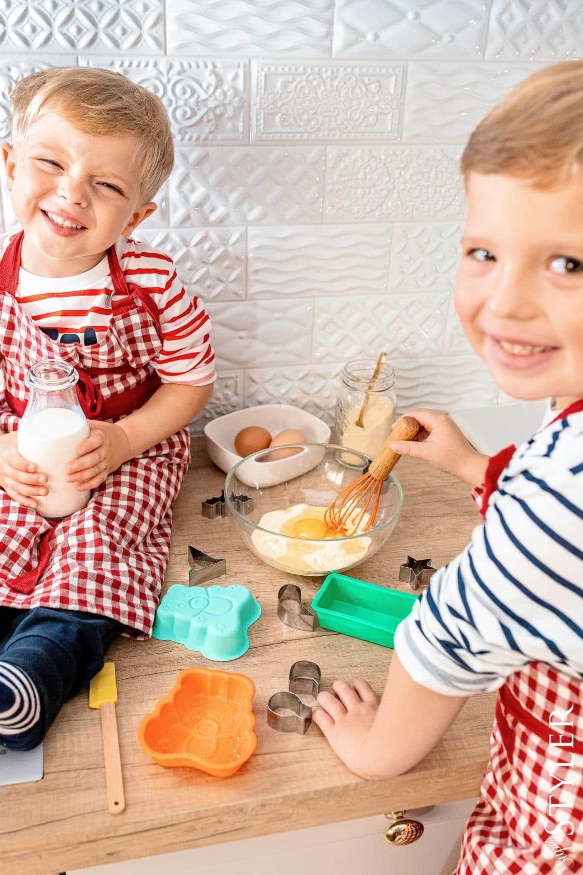 zabawy dla dzieci w domu zestaw do pieczenia superstyler