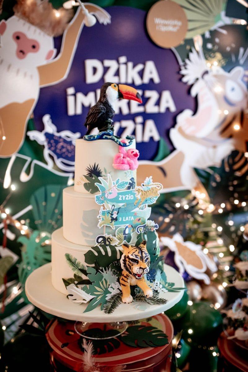 Tort Galeria słodkości na urodziny dziecka