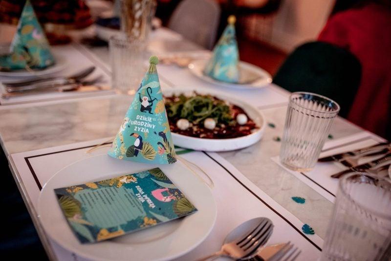 Wiewiórka i spółka dekoracje na urodziny dziecka