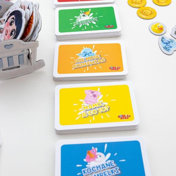gra planszowa Rodzice Roku karty