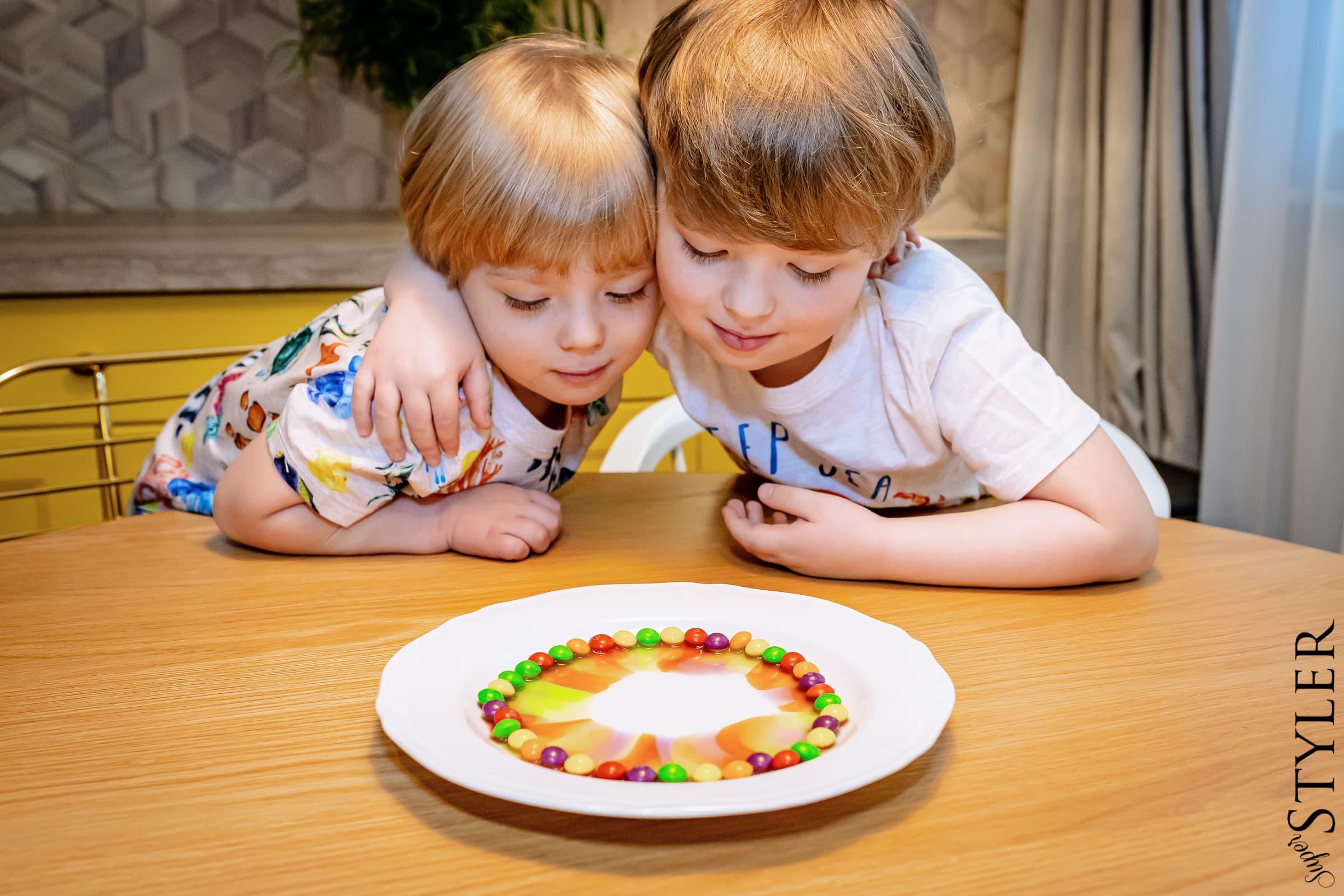 eksperymenty dla dzieci- tęcza