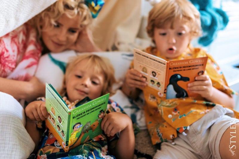 Czytanie dzieciom Marta Chłopcy
