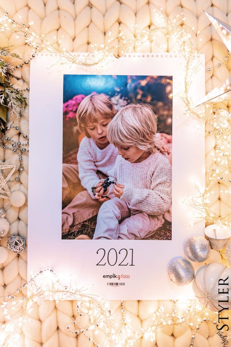 prezent dla dziewczyny kalendarz Empik Foto