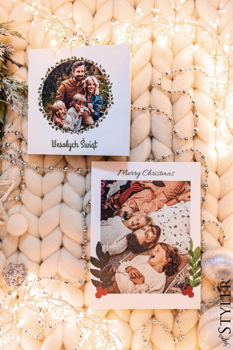 prezent dla dziewczyny kartki świąteczne Empik Foto