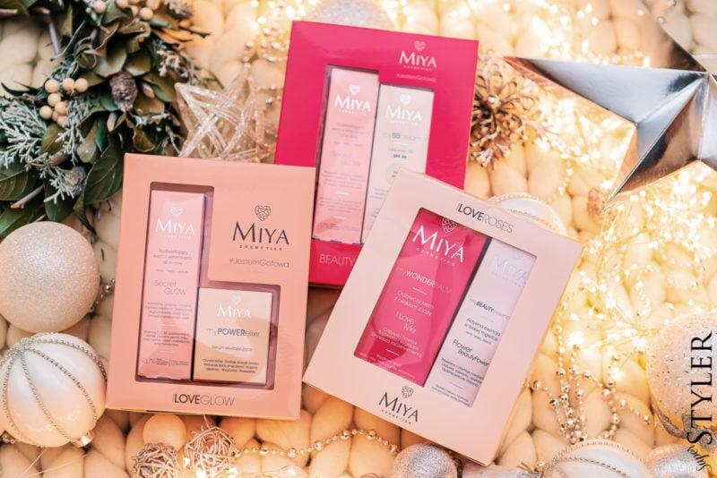 prezent dla dziewczyny zestaw kosmetyków Miya