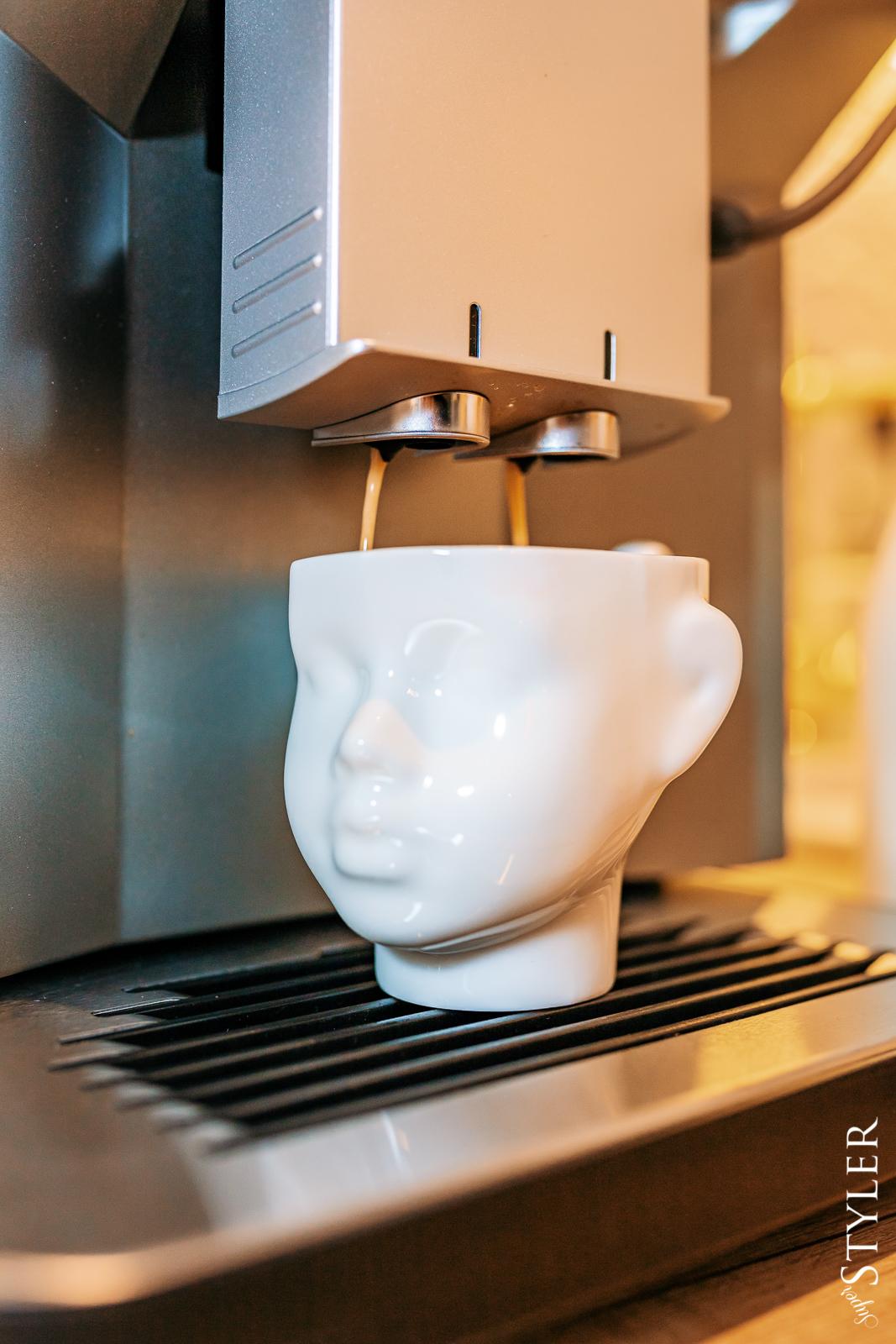 ekspres do kawy Siemens filiżanka