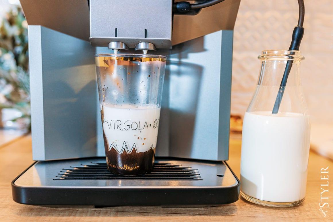 ekspres do kawy Siemens mleko