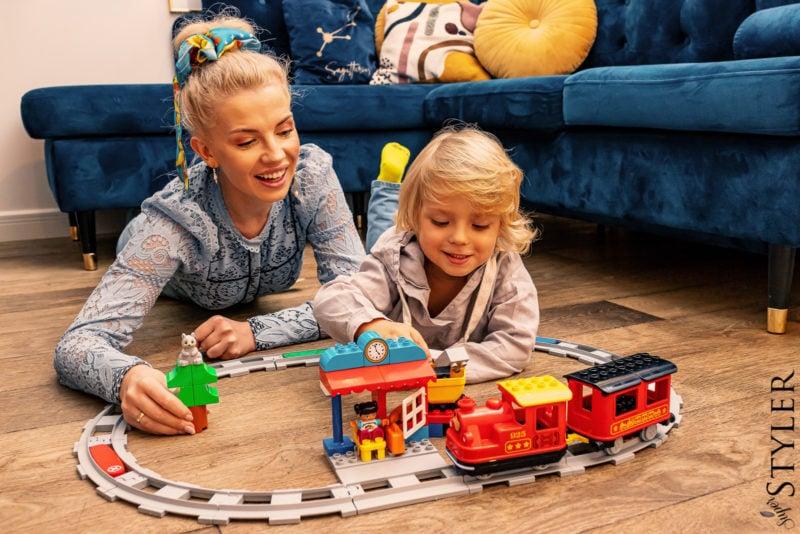 prezent na święta dla dziecka lokomotywa Lego Duplo